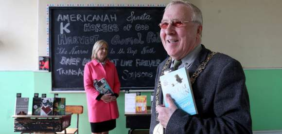 Lord Mayor Christy Burke and City Librarian announce the 2015 shortlist